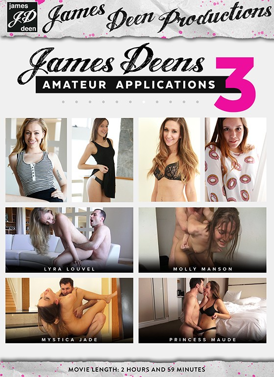 James Deen Bondage Threesome